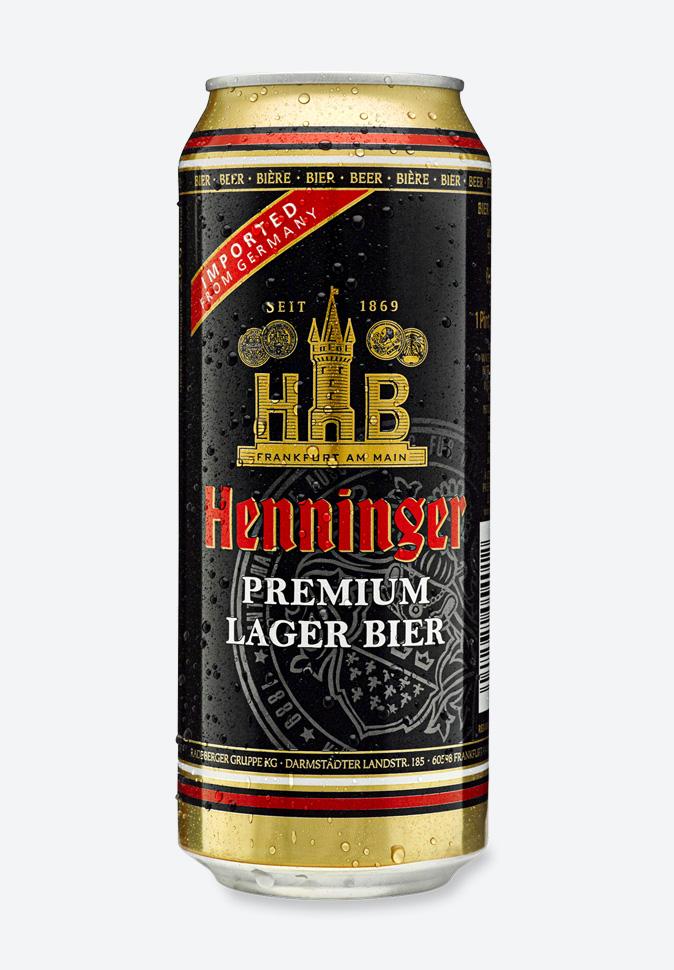 Пиво Хеннингер Премиум (Германия)