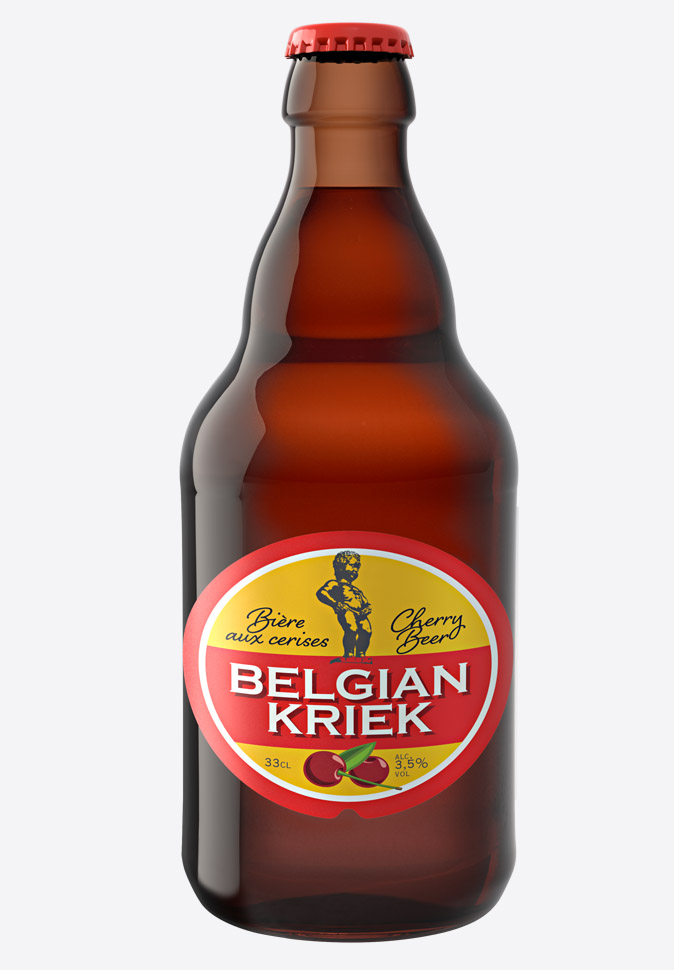 Пивной напиток Белжиан Крик (Belgian Kriek)