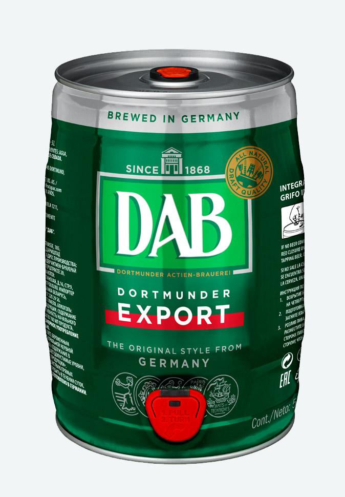Бочонок с пивом Даб