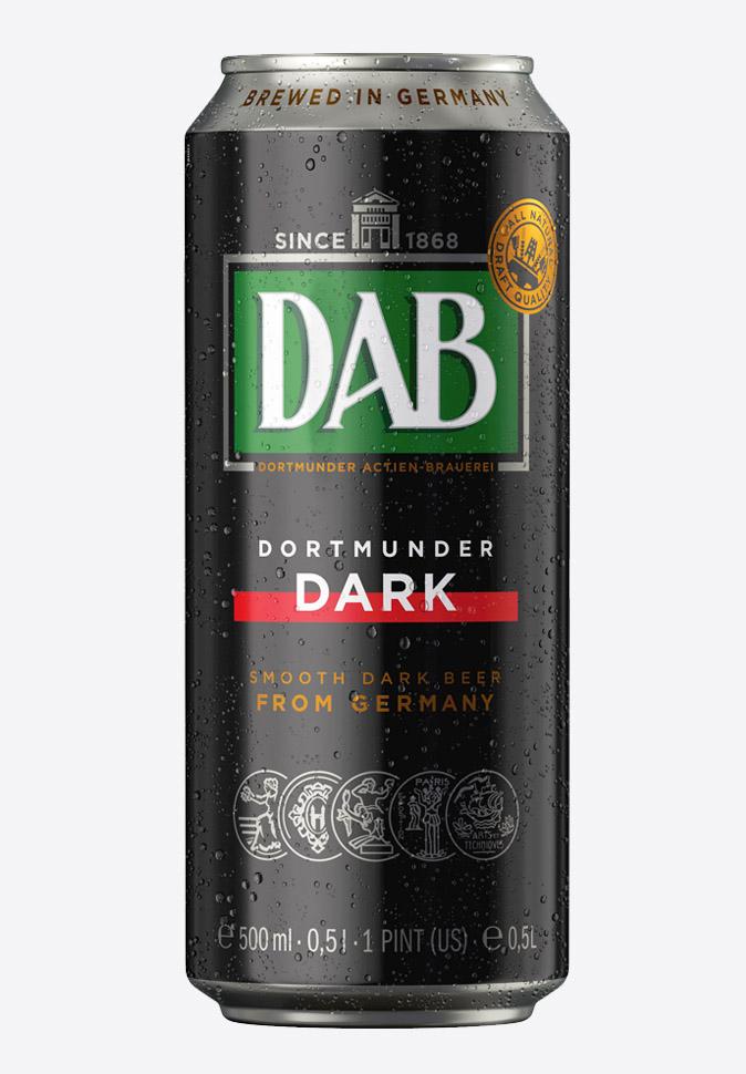 Темное пиво Даб