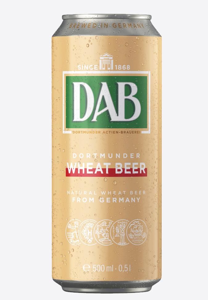 Пиво Даб пшеничное DAB Wheat beer