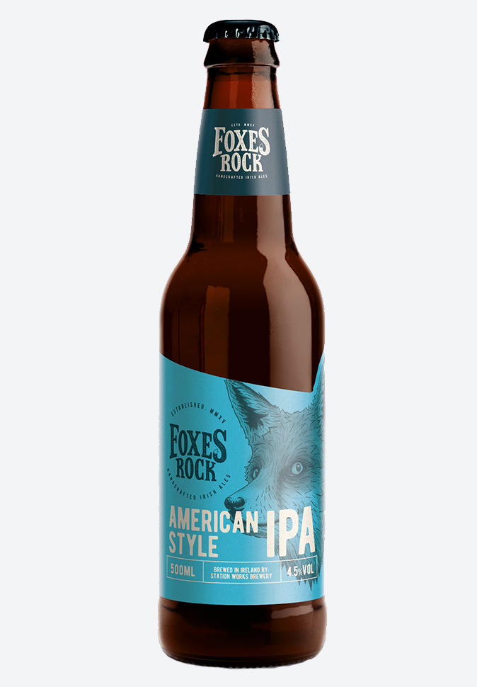 Новый дизайн IPA Foxes Rock