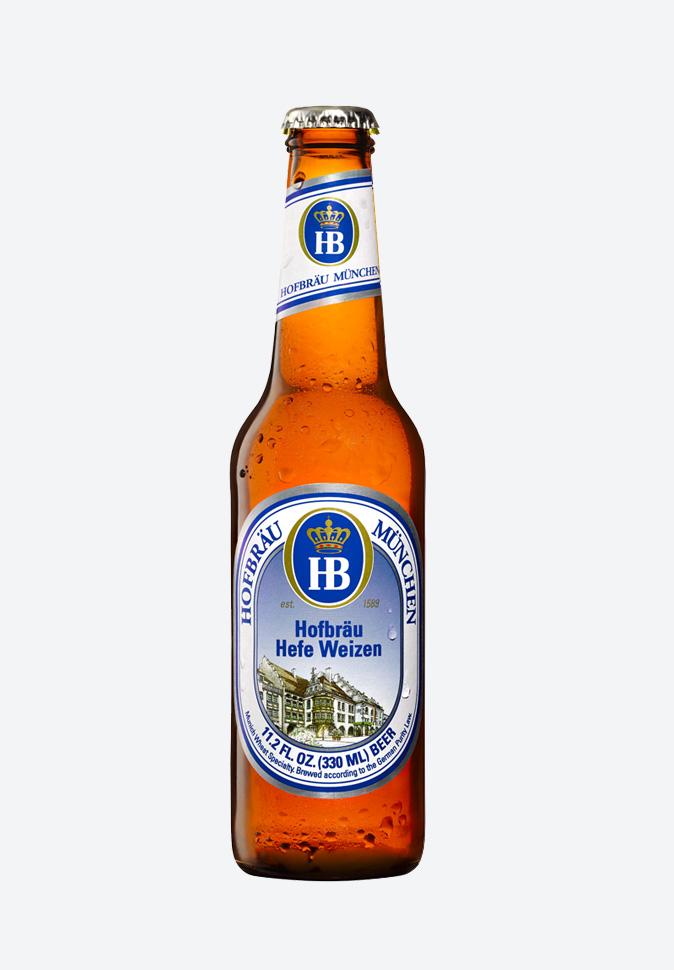 Hofbrau Munchner - пиво Хофброй пшеничное
