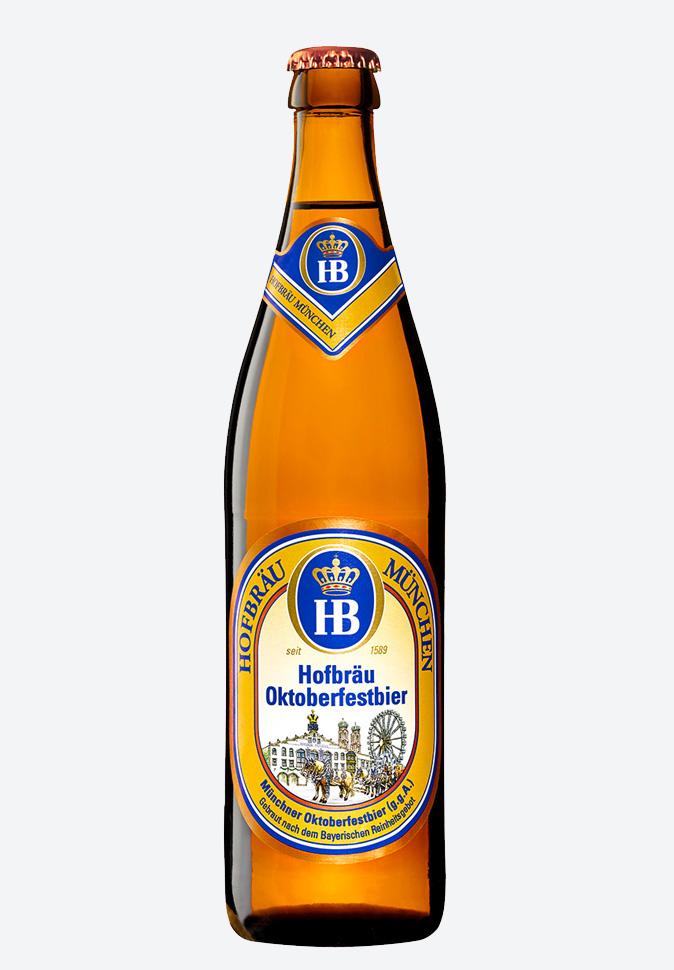 Пиво Hofbrau Oktoberfest (Хофброй Октоберфест)