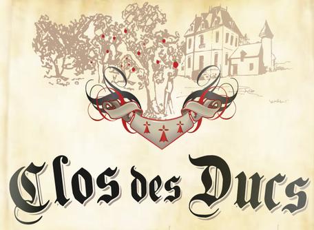 Логотип грушевого сидра Clos des Ducs