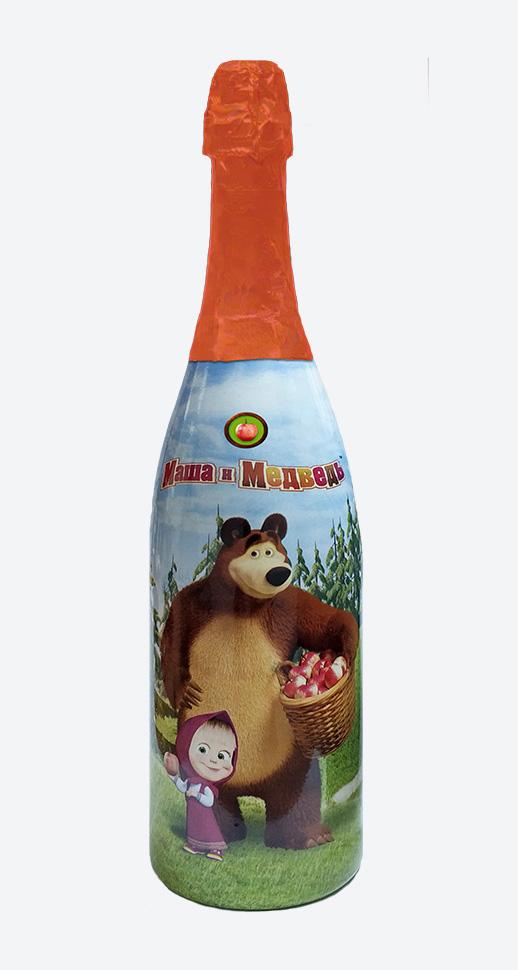"""Детское шампанское """"Маша и Медведь"""" яблочное"""