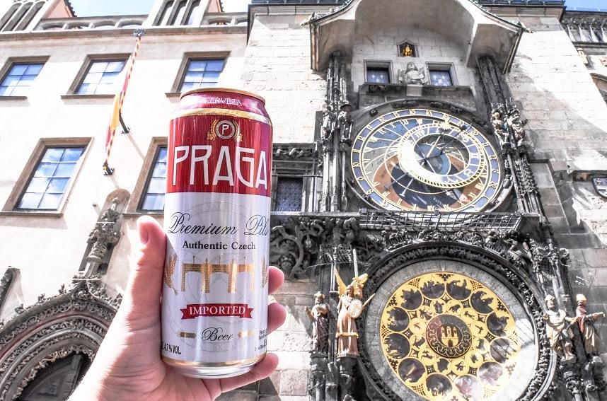 Пиво Praga