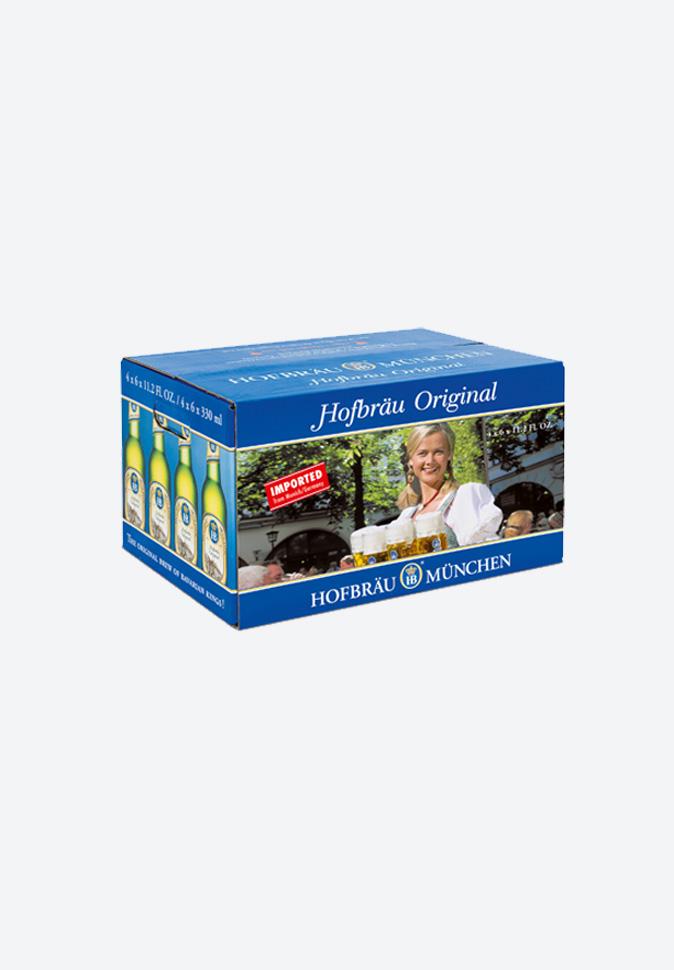 Коробка для Hofbrau_Original_0.33