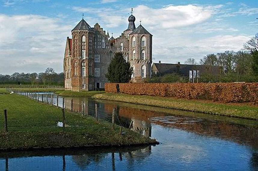 Северный Брабант (Brabant) - замок Kasteel Croy