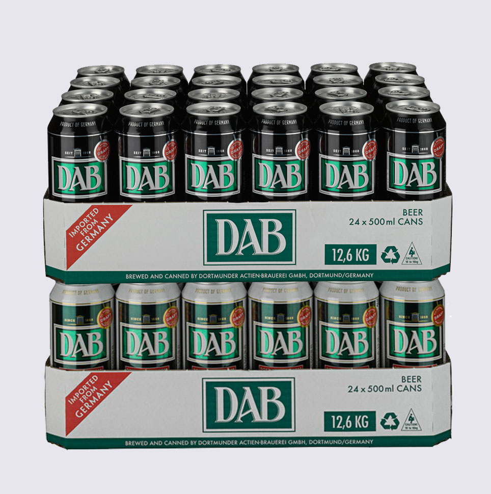 Баночное пиво ДАБ