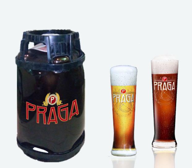 Пиво Прага в кегах