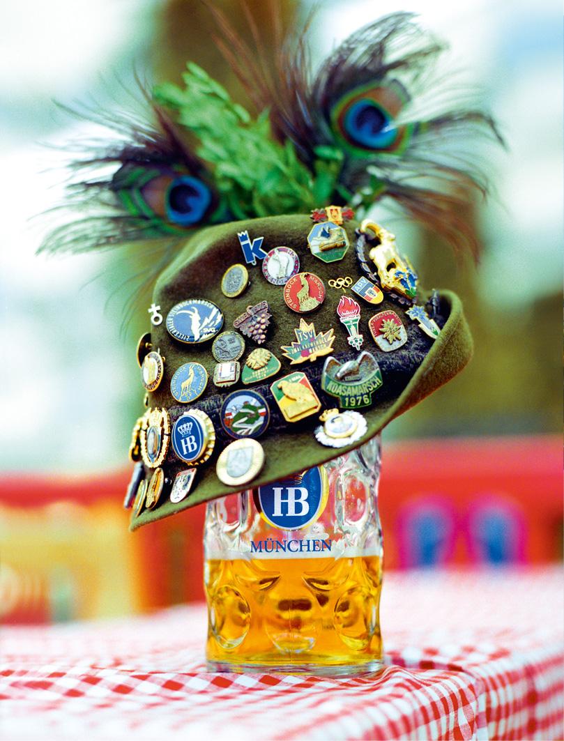 Кружка с пивом Хофброй