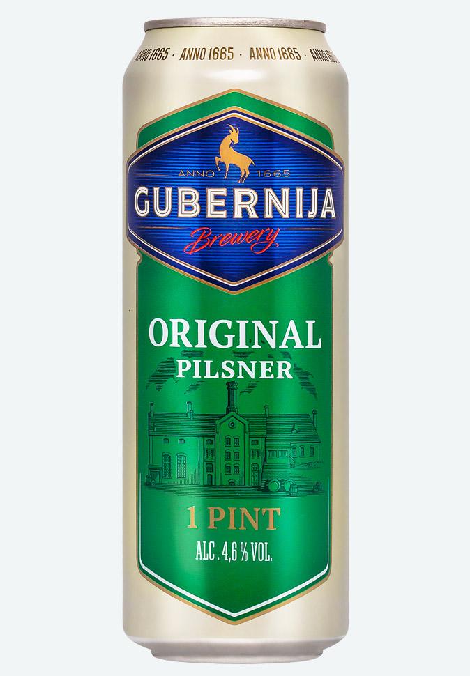 Пиво Губерния Пилснер (пинта)