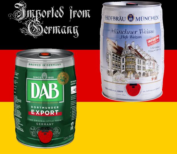 Немецкие бочонки